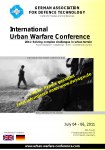Berlin: International Urban Warfare Conference & Expo