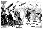 UK-Riots: Regierung bestellt Twitter & Co. ein