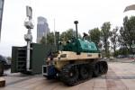 Panzergraben, Grenzzaun, Wachroboter und mehr deutsche Polizei