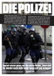 Plakat von CrimethInc. auf deutsch: DIE POLIZEI
